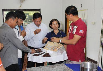 เจ้าหน้าที่ป่าไม้แห่งราชอาณาจักรกัมพูชา ศึกษาดูงาน
