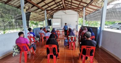 ฝึกอบรมเกษตรกร ตามโครงการระบบส่งเสริมเกษตรแปลงใหญ่ หลักสูตรการผลิตทุเรียนคุณภาพ