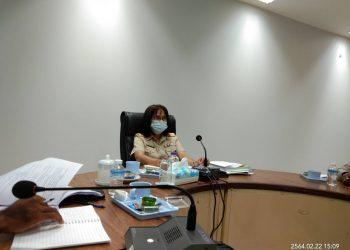 ศวพ. ตรัง ประชุมคณะทำงานพัฒนาเกษตรอินทรีย์จังหวัดตรังครั้งที่ 1/2564