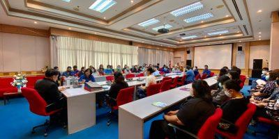 การประชุมกลุ่มสมาชิกสหกรณ์ออมทรัพย์กรมวิชาการเกษตร ของสำนักวิจัยพัฒนาเทคโนโลยีชีวภาพ