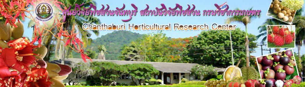 ศูนย์วิจัยพืชสวนจันทบุรี สถาบันวิจัยพืชสวน