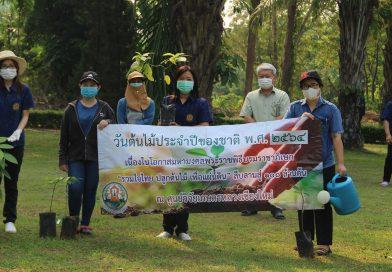 """ศูนย์วิจัยเกษตรหลวงเชียงใหม่ จัดกิจกรรมวันต้นไม้ประจำปีของชาติ พ.ศ.2564 เนื่องในโอกาสมหามงคลพระราชพิธีบรมราชาภิเษก ภายใต้ชื่อ """"รวมใจไทย ปลูกต้นไม้ เพื่อแผ่นดิน"""" สืบสานสู่ 100 ล้านต้น"""