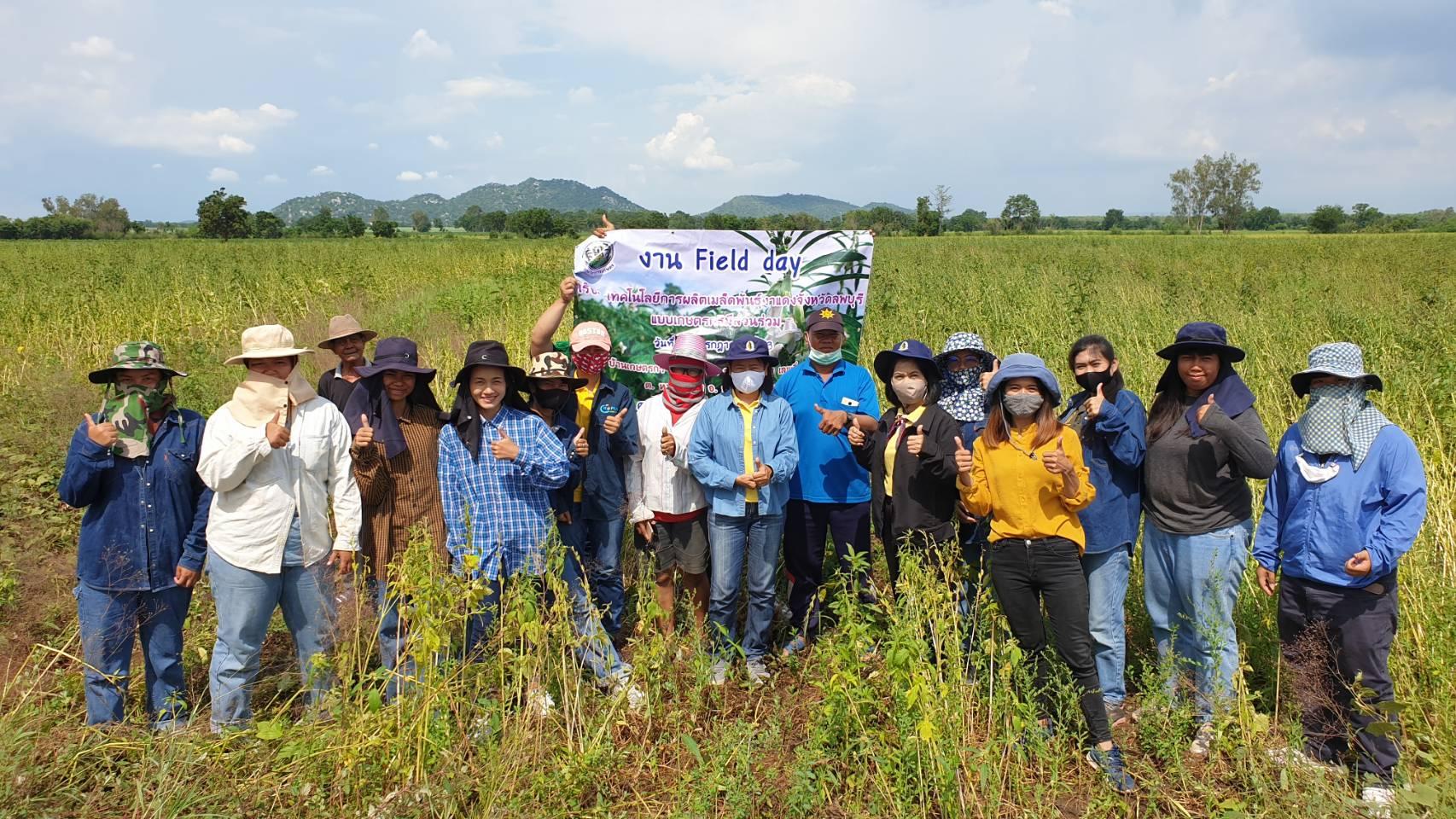 โครงการเปิดโอกาสให้ประชาชนมีส่วนร่วมในการบริหารราชการ (การผลิตเมล็ดพันธุ์งา)