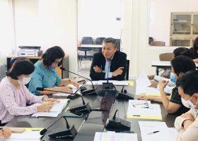 ประชุมเตรียมการจัดทำแผนการผลิตพันธุ์พืช ประจำปีงบประมาณ 2565